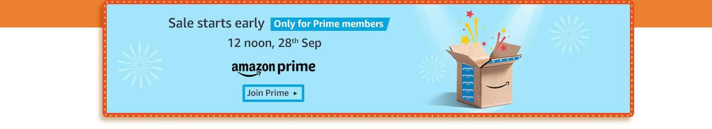 Amazon Great India Festival Sale Prime Banner Dealsmagnet