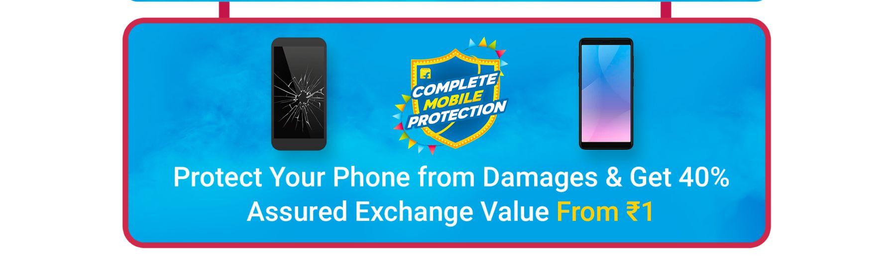 Flipkart Mobile Protection during Big Billion DAYS
